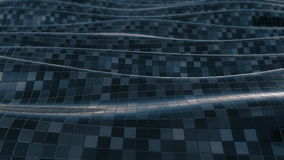 Ciclo molle del fondo dell'estratto del modello di mosaico stock footage