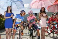 Ciclo: 99.o viaje de Italia 2016/etapa 14 Imagenes de archivo