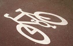 Ciclo-percorso Fotografie Stock Libere da Diritti