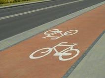 Ciclo-Pista Imagen de archivo