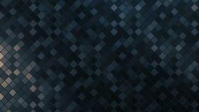 Ciclo quadrato del fondo del modello del mosaico archivi video