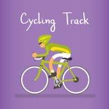 Ciclo que compete o atleta Sport Competition Fotografia de Stock