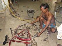 Ciclo que repara tiendas fotografía de archivo