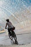 Ciclo a través del agua Fotos de archivo