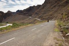 Ciclo - turismo nell'Iran Immagine Stock Libera da Diritti