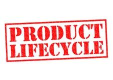 Ciclo vital de producto Imágenes de archivo libres de regalías
