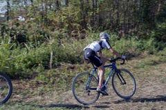 ciclocross спортсмена молодые Стоковое Фото