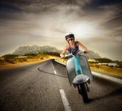 Ciclomotore fotografie stock