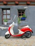 Ciclomotore d'avanguardia Fotografie Stock Libere da Diritti