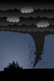 Ciclone illustrazione vettoriale