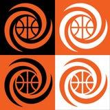 Ciclone di pallacanestro illustrazione vettoriale