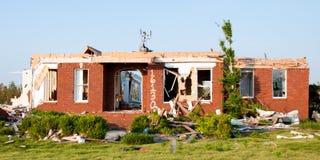 Ciclone-nocivo a casa nell'Alabama del Nord Fotografia Stock Libera da Diritti