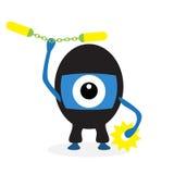 Ciclope di ninja del fumetto Immagini Stock