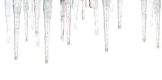Ciclos do gelo fotografia de stock