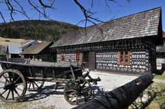 Cicmany Dorf Lizenzfreies Stockfoto