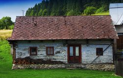 Cicmany - picturesque historical village Royalty Free Stock Photos