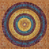 Cicular pattern on tiles. Stock Photo