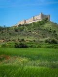Cid castle, Jadraque, Castilla la Mancha, Spain Royalty Free Stock Photo