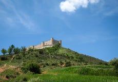 Cid castle, Jadraque, Castilla la Mancha, Spain Royalty Free Stock Image