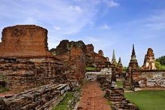 A cidade é antiga em Tailândia Imagem de Stock