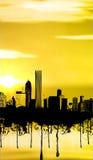 Cidade Imagens de Stock Royalty Free