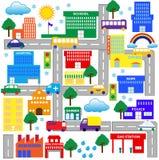 Cidade 2 ilustração stock