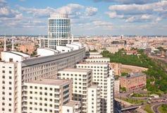 Cidade 6 de Moscovo foto de stock royalty free