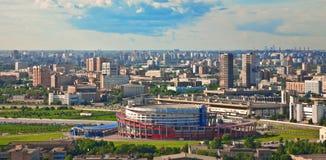 Cidade 8 de Moscovo imagens de stock royalty free