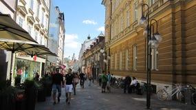 A cidade Imagem de Stock Royalty Free