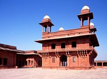 Cidade abandonada, Fatehpur Sikri imagens de stock royalty free