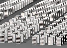 Cidade abstrata Foto de Stock