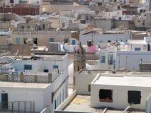 Cidade africana norte fotografia de stock royalty free