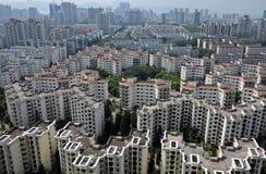 Cidade aglomerada Fotos de Stock