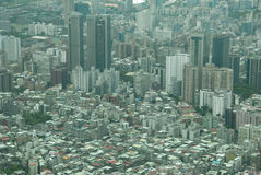 Cidade alastrando grande Fotos de Stock