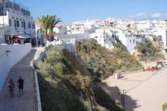 Cidade Albufeira do turista em Portugal Fotos de Stock