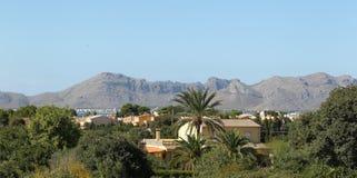 Cidade Alcudia, Mallorca, Spain Imagem de Stock