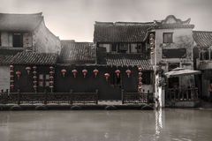 A cidade antiga Fotos de Stock Royalty Free