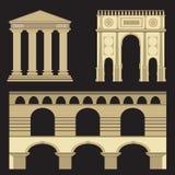 Cidade antiga antiga, Fotografia de Stock Royalty Free