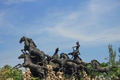 Cidade antiga, Banguecoque, Tailândia Imagem de Stock Royalty Free