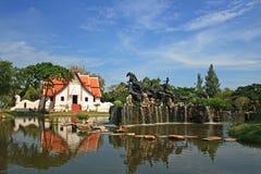 Cidade antiga, Banguecoque, Tailândia Fotografia de Stock
