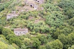 Cidade antiga da caverna de Khndzoresk Imagem de Stock Royalty Free