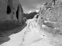 Cidade antiga da montanha Fotografia de Stock
