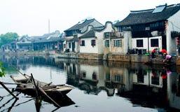 Cidade antiga da Vila-Xitang da água Imagens de Stock Royalty Free