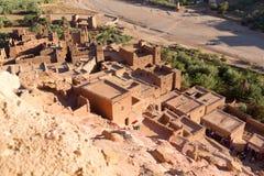 Cidade antiga de AIT Benhaddou em Marrocos Imagem de Stock