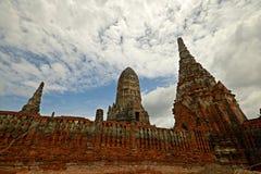 Cidade antiga de Ayuthaya Fotos de Stock