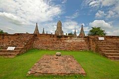 Cidade antiga de Ayuthaya Imagens de Stock