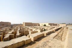 A cidade antiga de Babylon Imagens de Stock