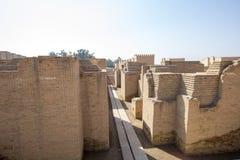 A cidade antiga de Babylon Imagem de Stock Royalty Free