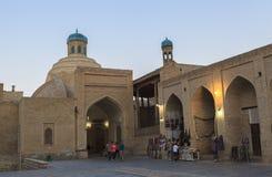 Cidade antiga de Bukhara em Usbequistão Fotografia de Stock