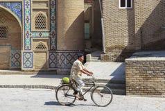 Cidade antiga de Bukhara em Usbequistão Foto de Stock Royalty Free